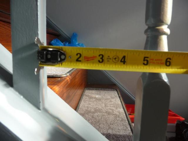 Stair Openings over 4 3/8 ths